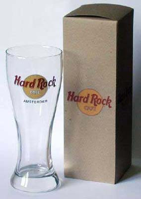 hard rock cafe pilsner glasses
